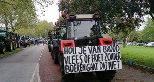 Burgemeester stelt boeren in Zwolle ultimatum, 'voor 13.30 uur weg'