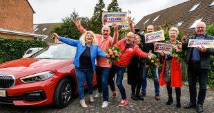 Zwollenaren winnen 137.500 euro én een nieuwe auto