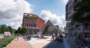 Zo komt het winkelcentrum in Stadshagen eruit te zien