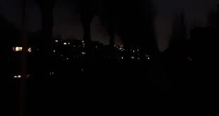 Het is weer pikkedonker in delen van Zwolle