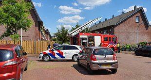 Brand in woning aan Raaigras in Stadshagen