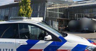 Mannen breken in bij school die vlak naast het hoofdbureau van de Zwolse politie ligt