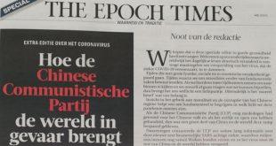 Ook in Zwolle krant door brievenbus van religieuze pro-Trump beweging