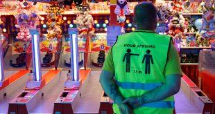 Kermis in Zwolle al snel te druk, velen moeten wachten