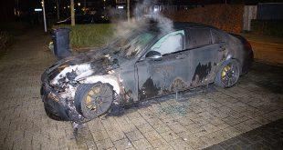 Opnieuw auto uitgebrand in Stadshagen