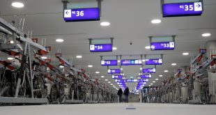 Mega-fietsenstalling onder station Zwolle is geopend