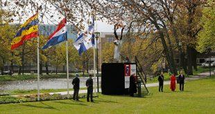 Bevrijdingsvuur brandt in Ter Pelkwijkpark, extra aandacht voor Zwolse veteranen